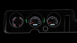White Lighting at Night shown with OEM dash/ trim/ bezel/ facia.