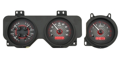 VHX-69P-GTO-C-R: Carbon Fiber Background, Red Lighting