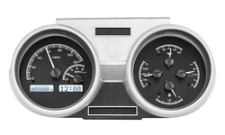 Black Alloy Background, White Lighting shown with OEM dash/ trim/ bezel/ facia.