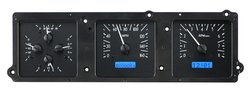VHX-70B-SKY-K-B: Black Alloy Background, Blue Lighting