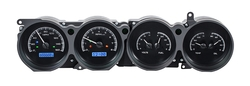 VHX-70D-CLG-K-B: Black Alloy Background, Blue Lighting with Indicators shown.