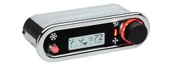 DCC-2500H-C-W: Chrome Bezel, White Lighting