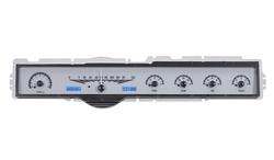 VHX-65F-GAL-S-B: Silver Alloy Background, Blue Lighting