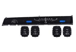 VHX-64L: Black Alloy Background, Blue Lighting