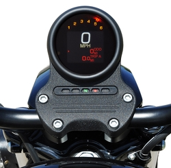 MLX-3000/3004/3012-K with Black Bezel in stock Harley Davidson mount