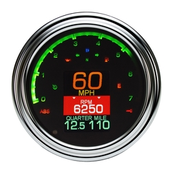 MLX-2000/2004/2011 with Chrome Bezel w/ Indicators Shown