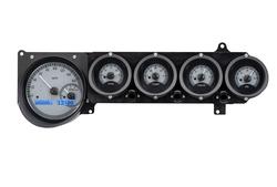VHX-70D-STD-S-B: Silver Alloy Background, Blue Lighting