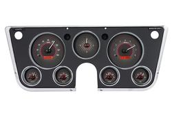 VHX-67C-PA: Carbon Fiber Background, Red Lighting