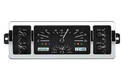 VHX-40C-PU-K-W: Black Alloy Background, White Lighting with Indicators shown.