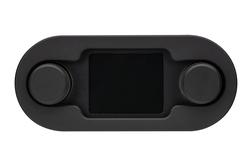 DCC-4000-K-K: Black Bezel and Black Alloy Background