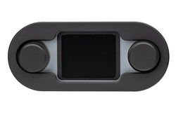 DCC-4000-K-S: Black Bezel and Silver Alloy Background