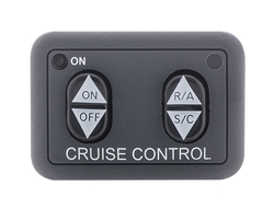 HND-2 - Dash Mount Switch - Can be secured to or under dash for hidden operation. 2 in x 1-3/8 in.
