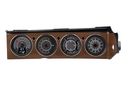 1970- 74 Dodge Challenger and 1970- 74 Plymouth Cuda with Rallye dash shown with OEM dash/ trim/ bezel/ facia.