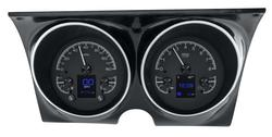 Black Alloy Background shown with optional gauge carrier/ bezel.